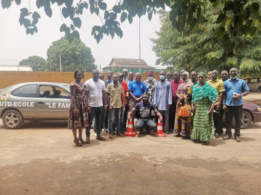 Renforcement des capacités / Les Directeurs et moniteurs d'auto-écoles du Gbêkê et du Hambol formés