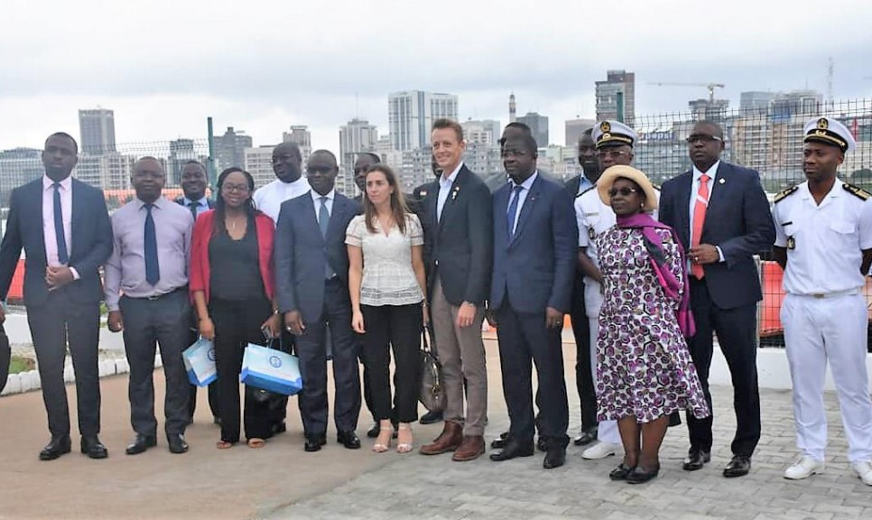 Coopération le DG du MCC en visite au Port d'Abidjan