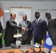 Signature de convention de concession / le Ministre Amadou Koné pour une compétitivité du Port d'Abidjan