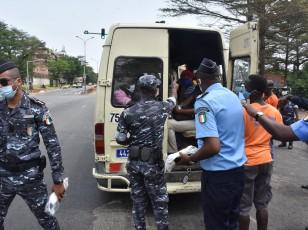 Covid19 / Les forces de l'ordre sensibilisent les transporteurs au respect des mesures barrières
