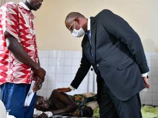 Accident à Ferkessédougou / Le Premier Ministre exprime la compassion du Chef de l'État aux familles des victimes