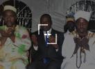 Rupture collective de jeûne / le Ministre Amadou Koné communie avec les chauffeurs de taxis