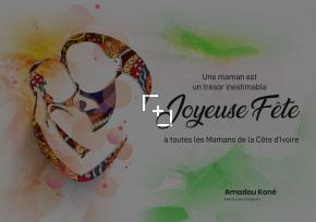 Fête des mères au cabinet du Ministère des Transports/ le Ministre Amadou Koné cadeaute les mères